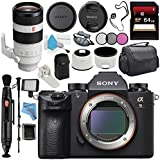 Sony Alpha a9 Mirrorless Digital Camera (Body) ILCE9/B + Sony FE 100-400mm f/4.5-5.6 GM OSS Lens SEL100400GM + 64GB SDXC Card + Carrying Case + Memory Card Wallet + Deluxe Cleaning Kit Bundle