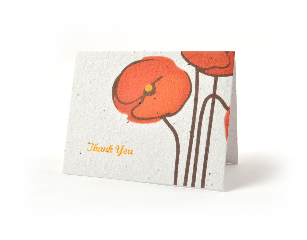 Amazon Bloomin Thanks A Bunch Seed Paper Greeting Cards