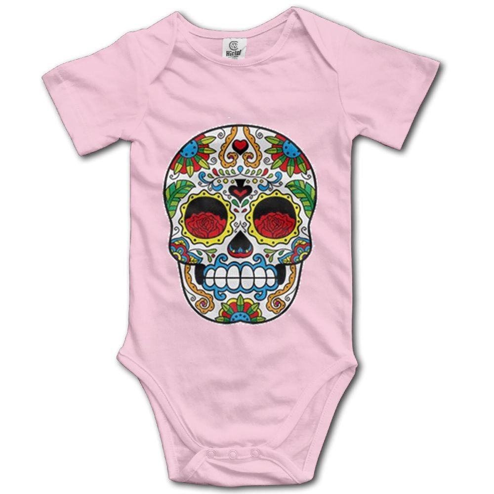 Rainbowhug Smile Skull Unisex Baby Onesie Cartoon Newborn Clothes Concise Baby Outfits Soft Baby Clothes