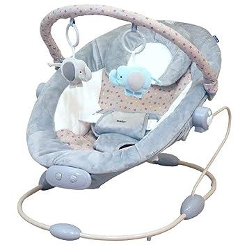 modell 1 COSTWAY Babywippe Babywiege Schaukelwippe Schaukelsitz Babyschaukel Babysitz mit Vibrationsfunktion Musik
