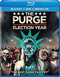 Cover Image for 'The Purge: Election Year (Blu-ray + DVD + Digital HD)'