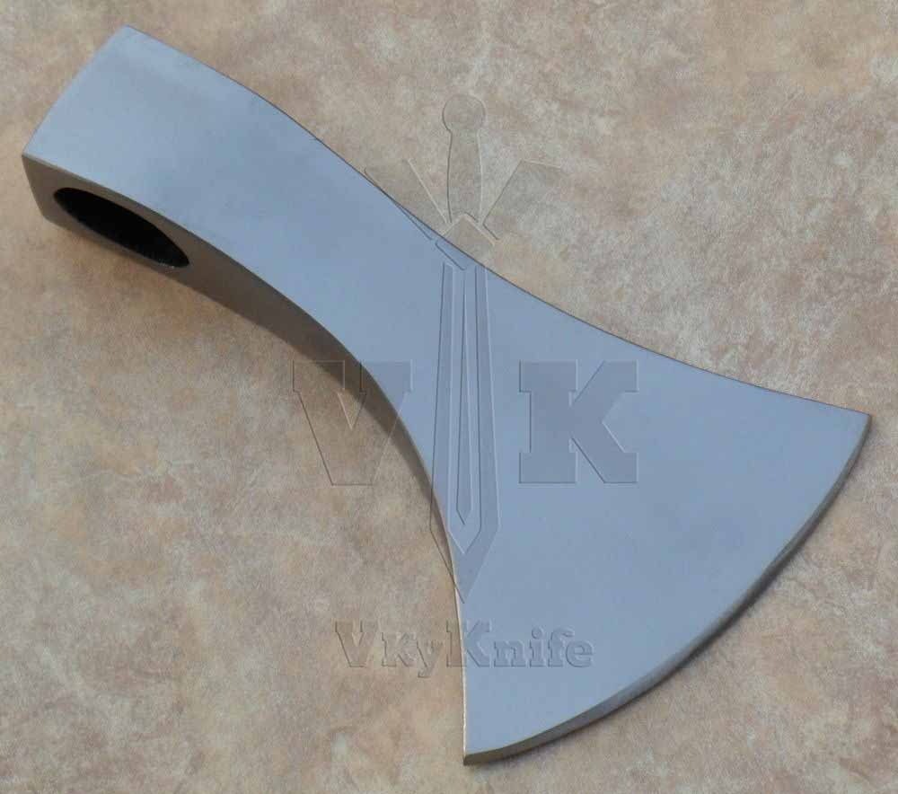 JNR TRADERS Handmade Carbon Steel AXE Hatchet Head Knife VK7004