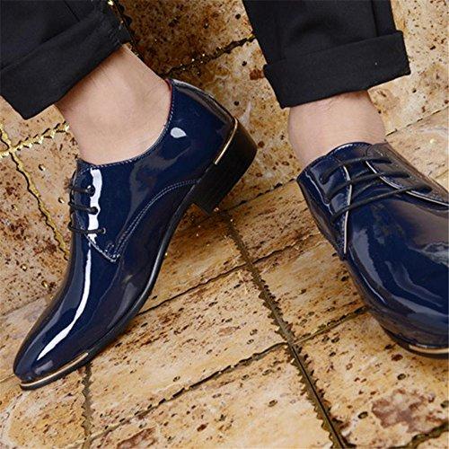 Uomo Basse 1875 Stringate DE000 SHELAIDON Blau Scarpe oxfords 7YFxzw