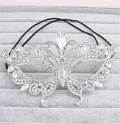 Face mask Shield Veil Guard Screen Domino False Front High-end Luxury Delicate Makeup Dance mask Half face Halloween Party mask Photo Photography Props