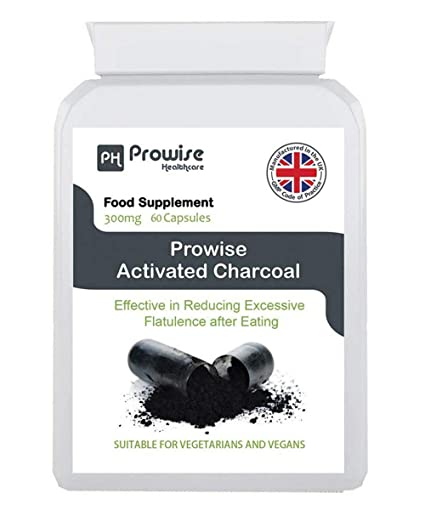 Prowise Activate Charcoal 300mg 60 Capsules