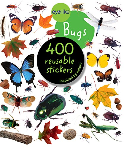 Eyelike Stickers: Bugs - Kid Art Bugs