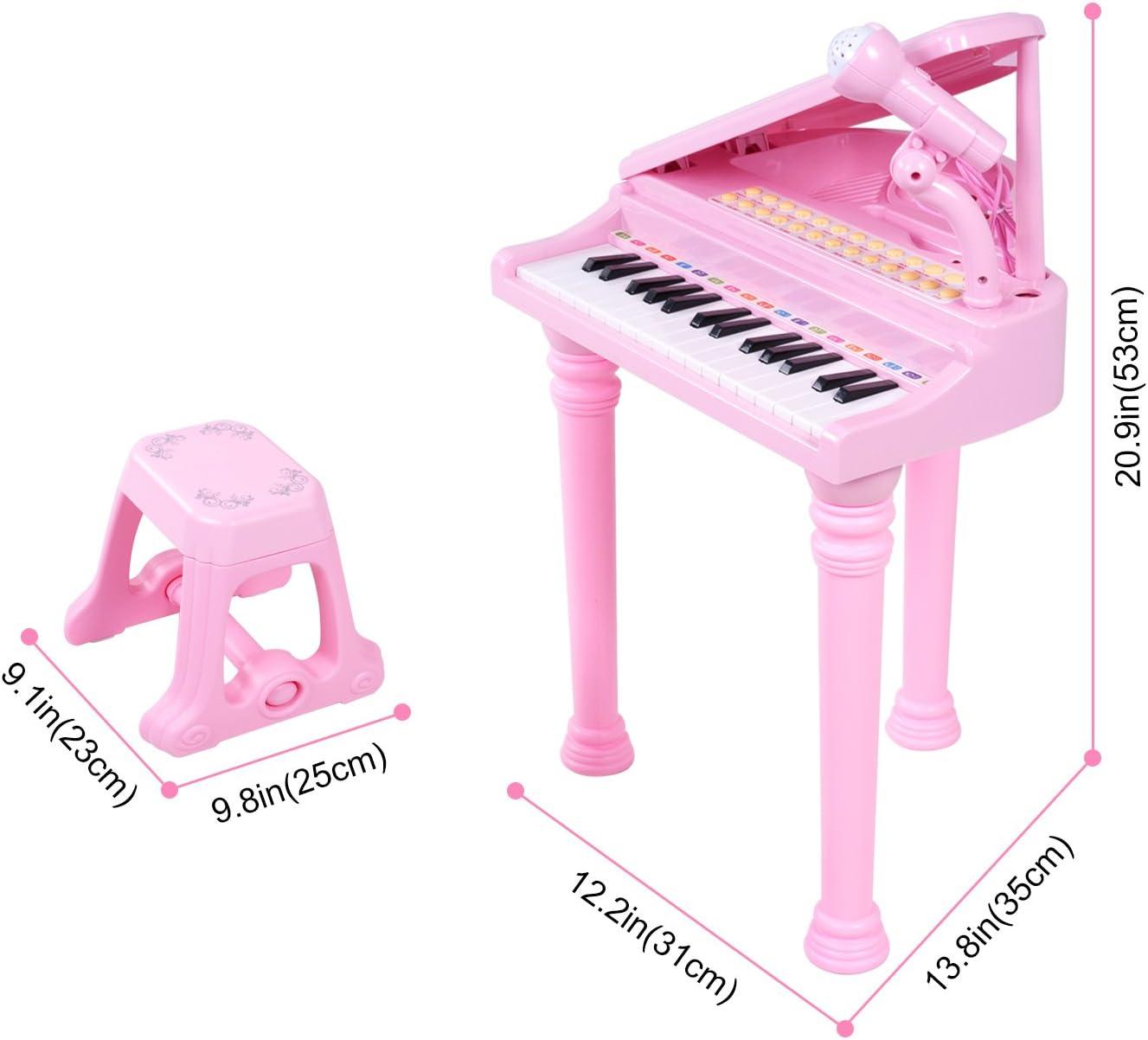 Jouets pour enfants Poupée Piano électronique bébé Musique