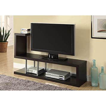 60 tv stands with swivel mount monarch hollow core stand inch cappuccino for sale corner
