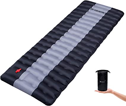 Waterproof PVC Inflatable Mat for Tent YSXHW Self Inflating Camping Pads Thick 4.7 Inch Lightweight Camping Sleeping Pad Ultralight,Compact Hiking and Backpacking