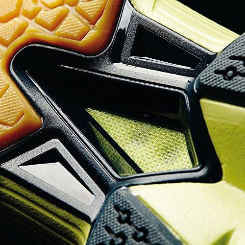 adidas Volley Response Boost W - Zapatillas para mujer, color lima / plata / azul marino, talla 42
