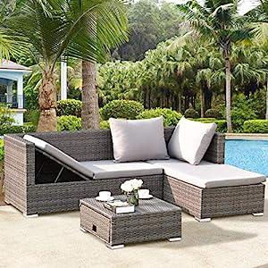 61eEh7de0YL._SS300_ Wicker Sofa Sets & Rattan Sofa Sets