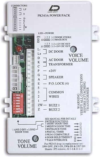 Amazon.com: LEE DAN PK-543A 5-4-3 WIRE APARTMENT INTERCOM AMPLIFIER: Home  ImprovementAmazon.com