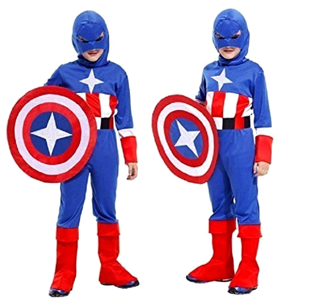 Disfraz - Disfraz - Carnaval - Halloween - Capitán América - Super ...