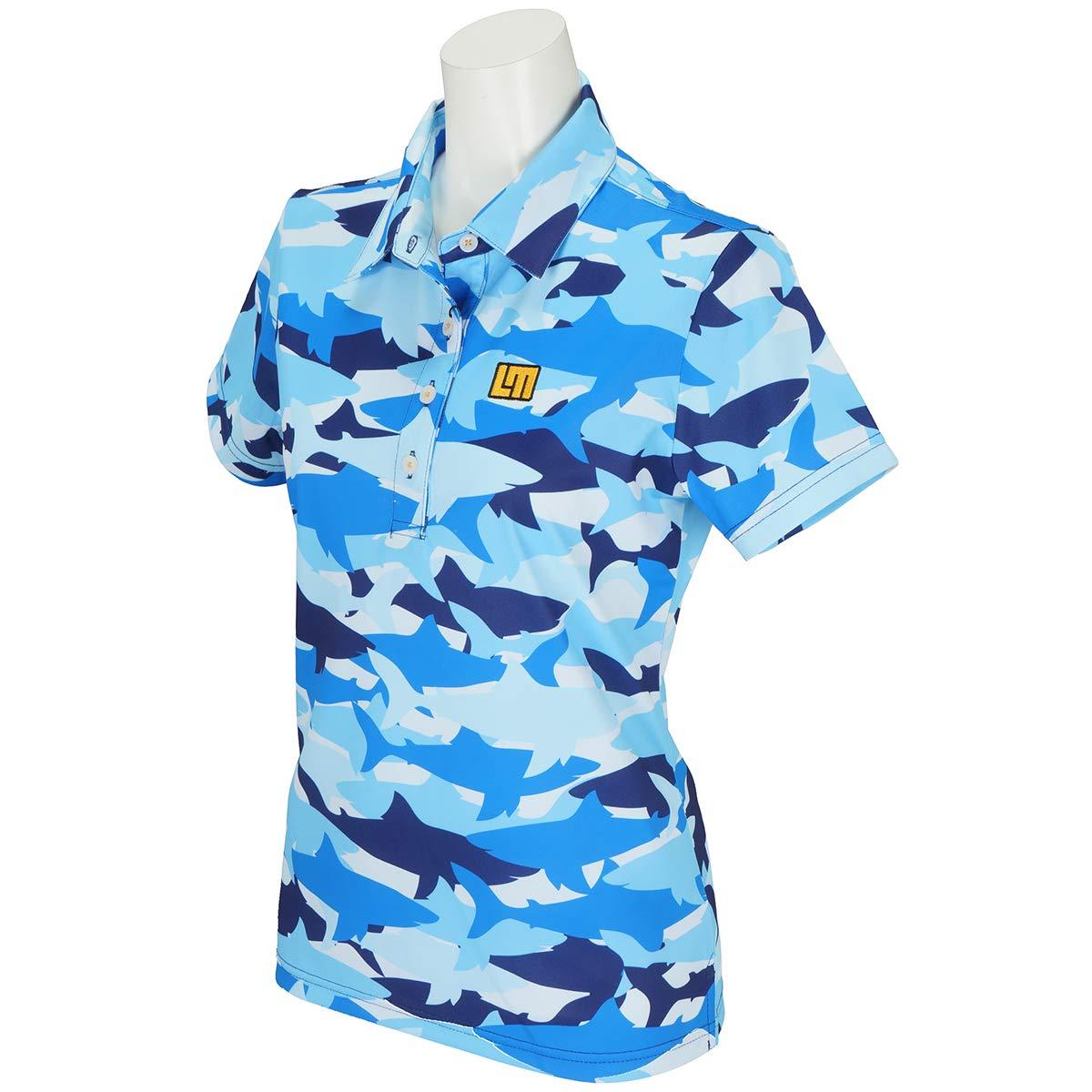 ポロシャツ レディース ラウドマウス ゴルフ LOUDMOUTH GOLF 日本正規品 日本規格 2019 春夏 ゴルフウェア 769-653 B07NJLT282