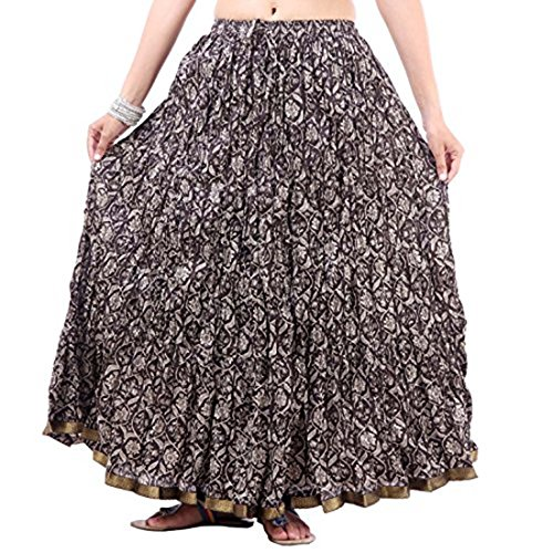 Indian Handicrfats Export Multicolor Printed Skirt