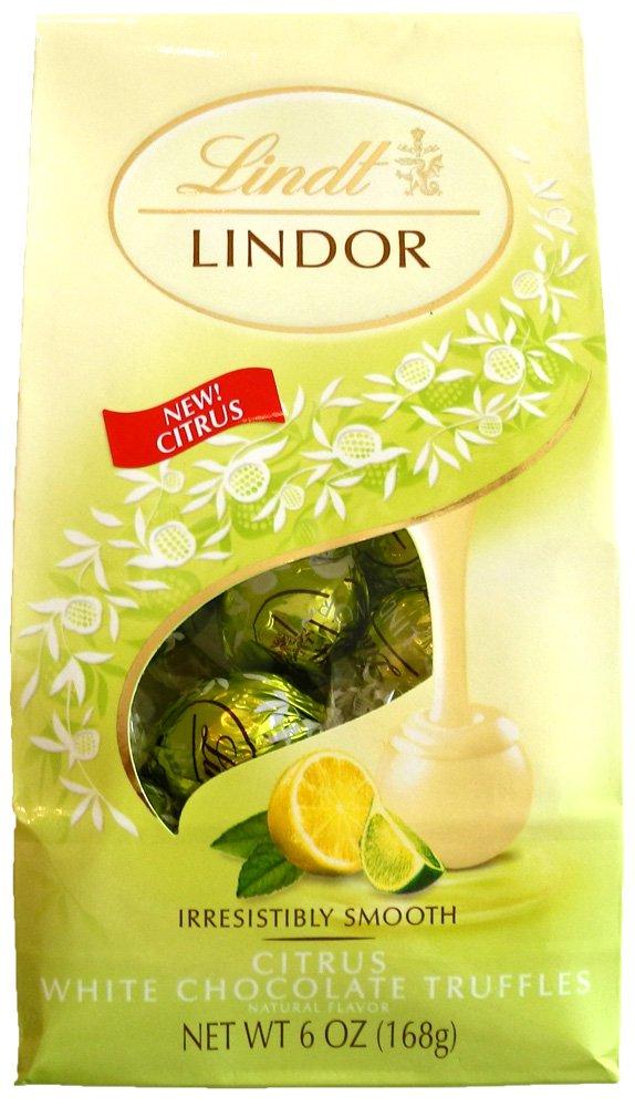 Lindt Lindor Strawberries Cream White Chocolate Truffles Oz