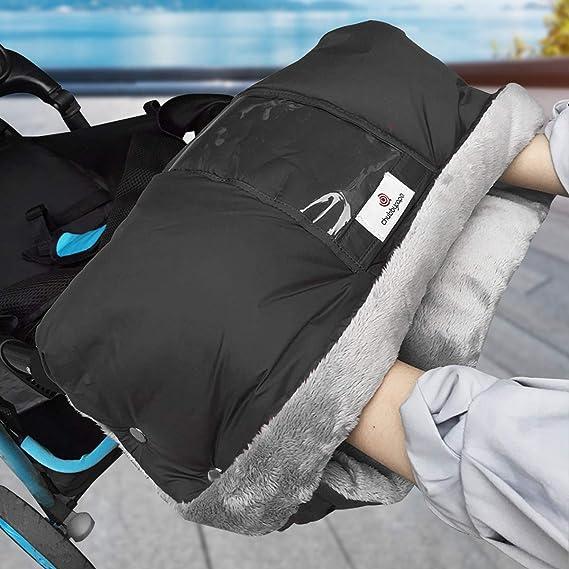 FAMKIT Stroller Hand Muff Winter Warm Windproof Waterproof Hand Warmer Baby Stroller Pushchair Handlebar Cover Mitten