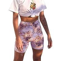 CANDLLY Pantalones Cortos de Fiesta para Mujeres, Las Rebajas Pantalones Cortos Bodycon Cupido de Flores por Encima de la Rodilla Minifaldas para Guapas