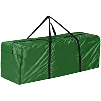 Cushion Storage Bag Garden Furniture Cushion Bags Waterproof Pouch with Zips Patio Seat Pads Carry Handbag with Handle…