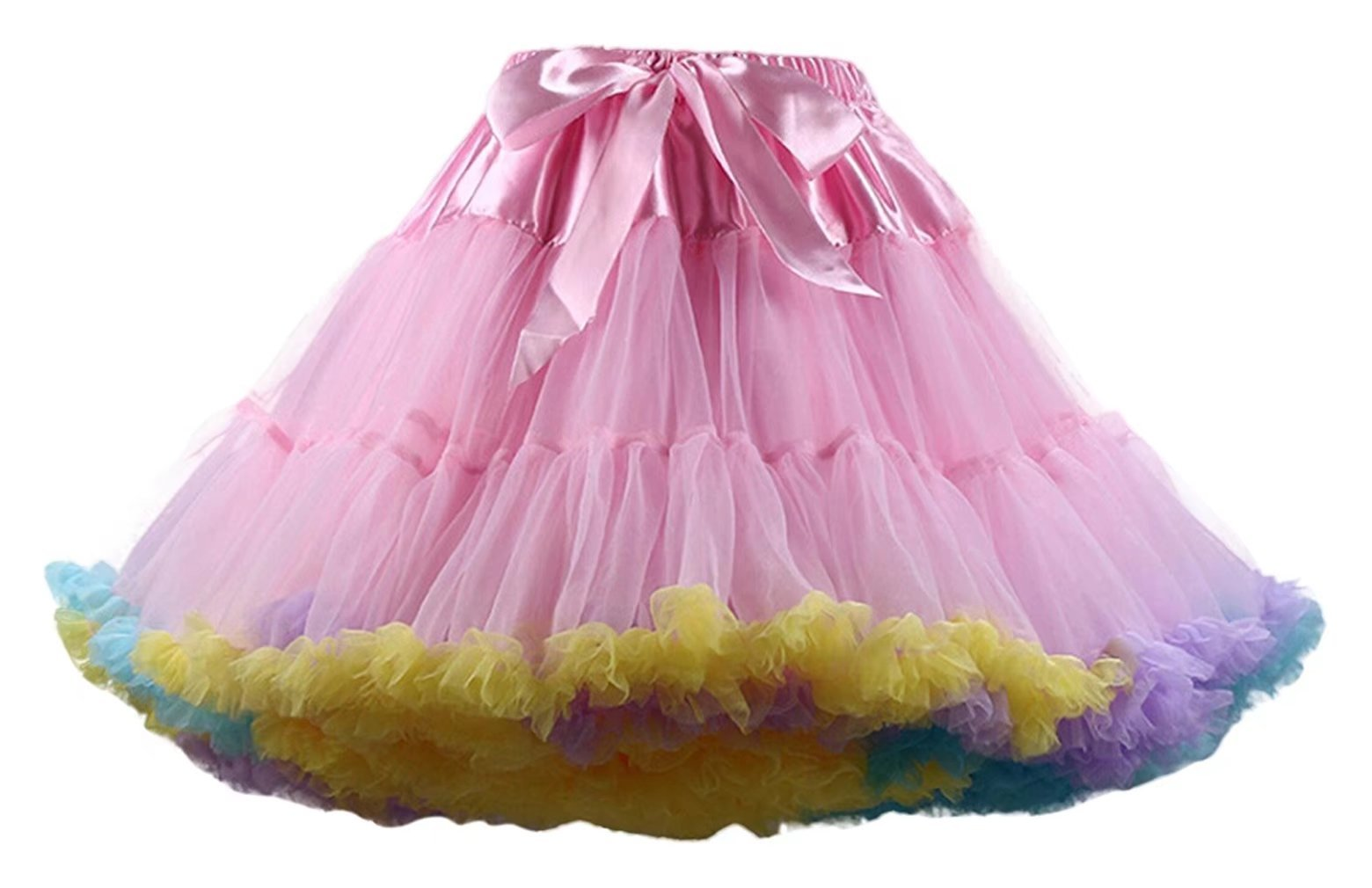 SZQINLI New Women's Short Petticoats Elasticity Tulle Skirts CQ005