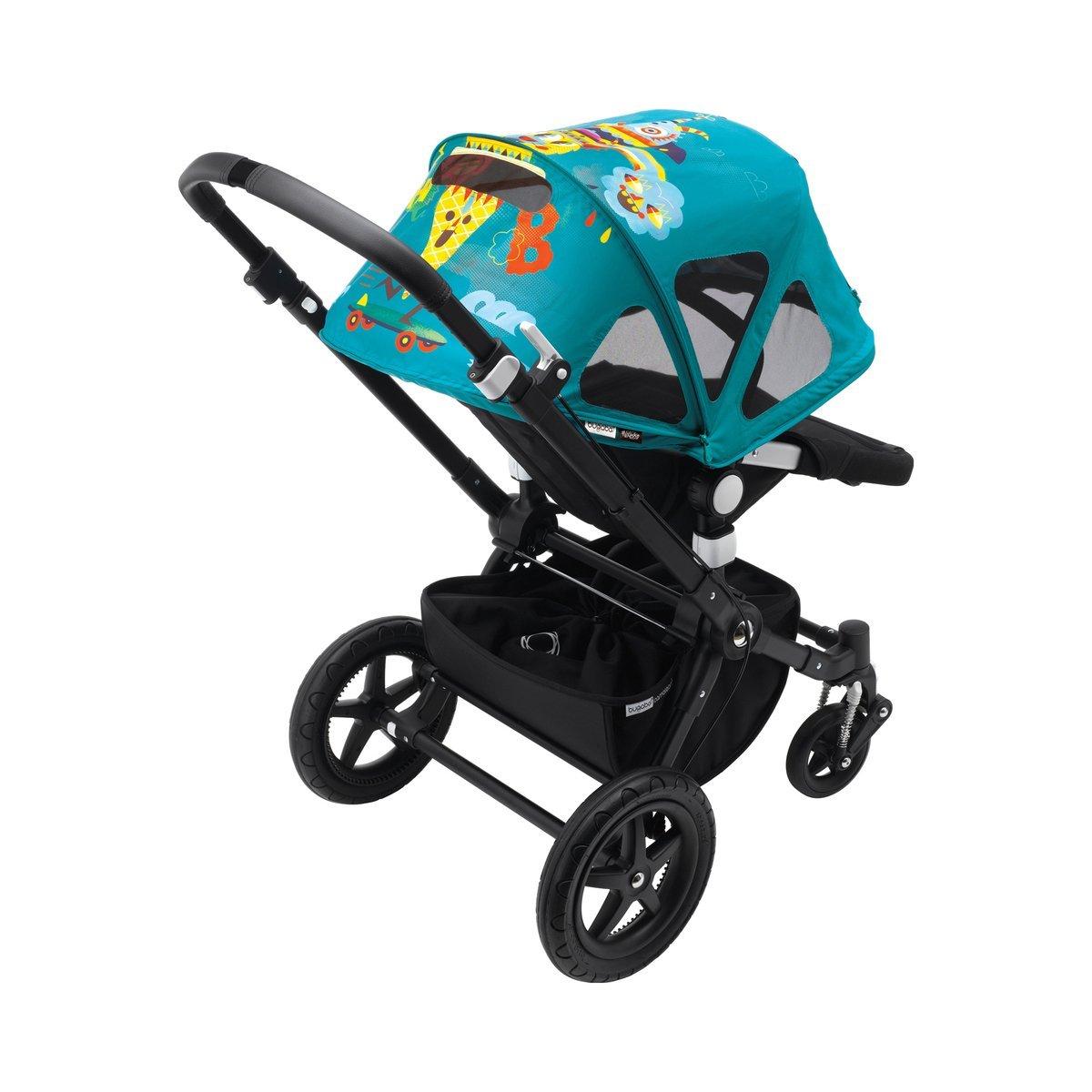 Amazon.com: Bugaboo Cameleon Breezy Sun Canopy X Niark1 ...