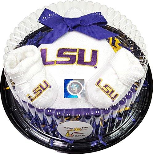 Louisiana State LSU Baby Piece of Cake Gift Set