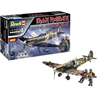 Revell-Spitfire MK.II Aces High Iron Maiden, Escala 1:32
