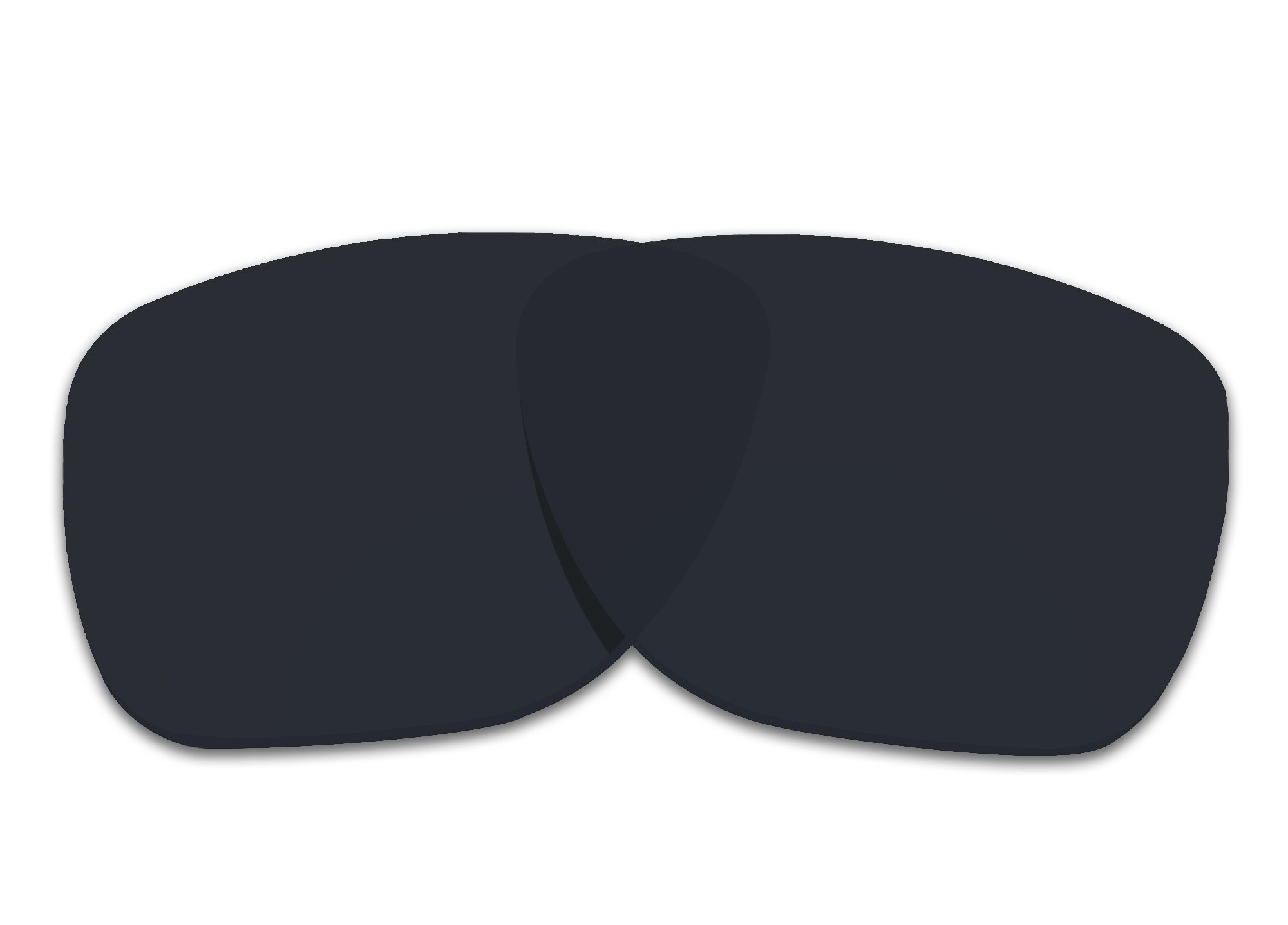 COLOR STAY LENSES 2.0mm Thickness Polarized Replacement Lenses for Oakley Crossrange XL OO9360 Black