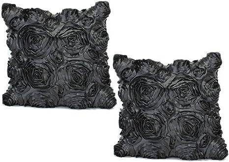Abstract 3D Print Satin Fabric Home Decor Square Throw Sofa Pillow Case Cover