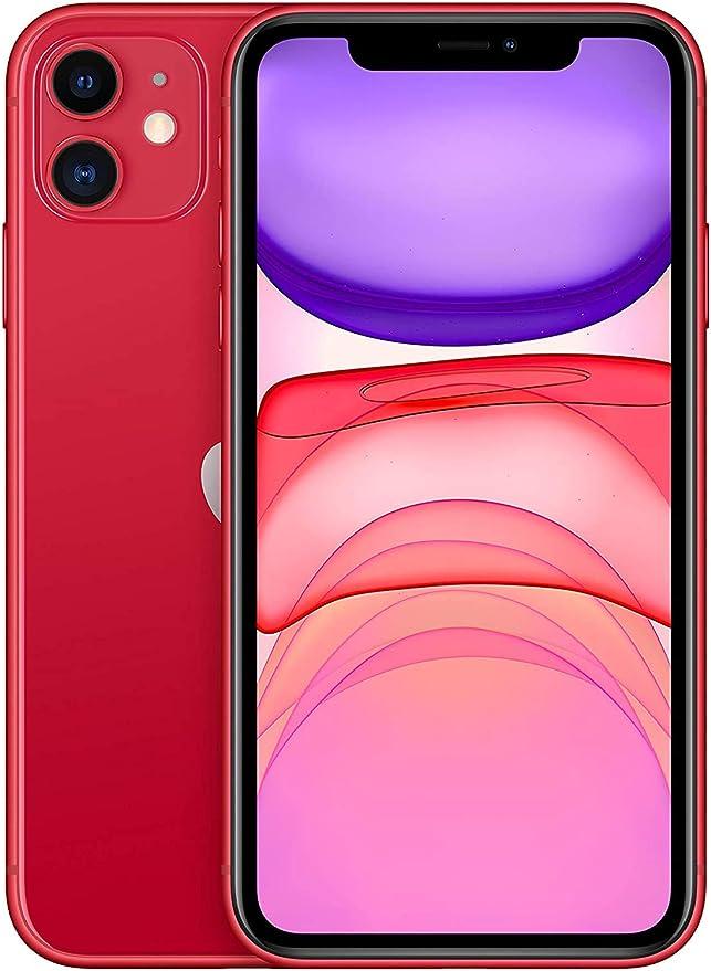 Apple iPhone 11 64GB - Rosso - Sbloccato (Ricondizionato)