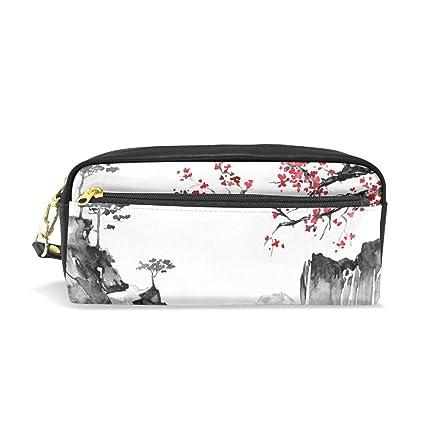 Estuche para lápices japonés tradicional pintura, estuche ...
