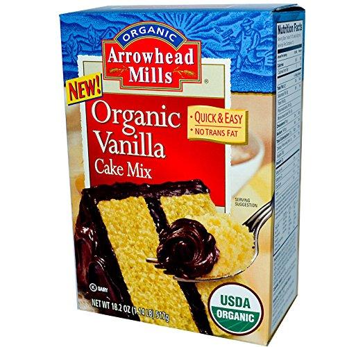 arrowhead mills vanilla cake mix - 3