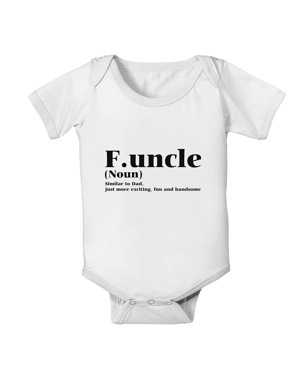 TooLoud Funcle Fun Uncle Baby Romper Bodysuit