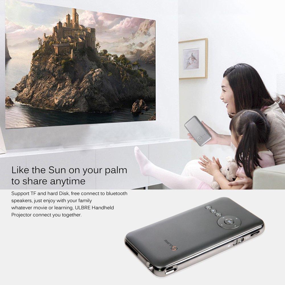 Amazon.com: ULBRE Multimedia DLP Projector HDMI Android 4.4 Ultra ...