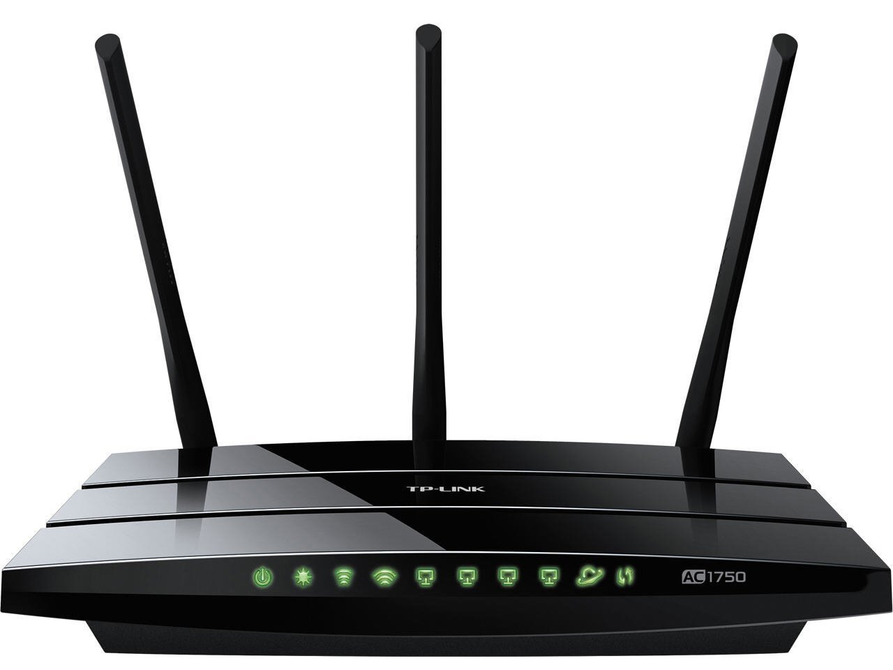 TP-LINK Archer C7 AC1750 Dual Band Wireless AC Gigabit Router, 2.4GHz 450Mbps+5Ghz 1300Mbps, 2 USB Ports