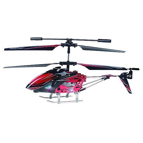 jfhrfged 2.4G RC Helicóptero Drone Helicóptero de 3,5 Canales con ...