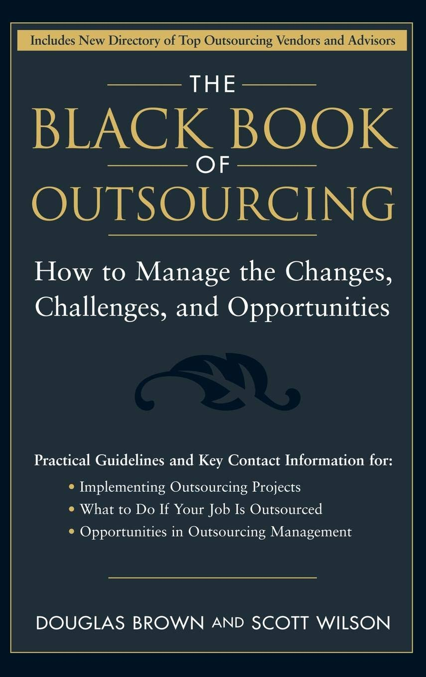 Black Book Of Outsourcing