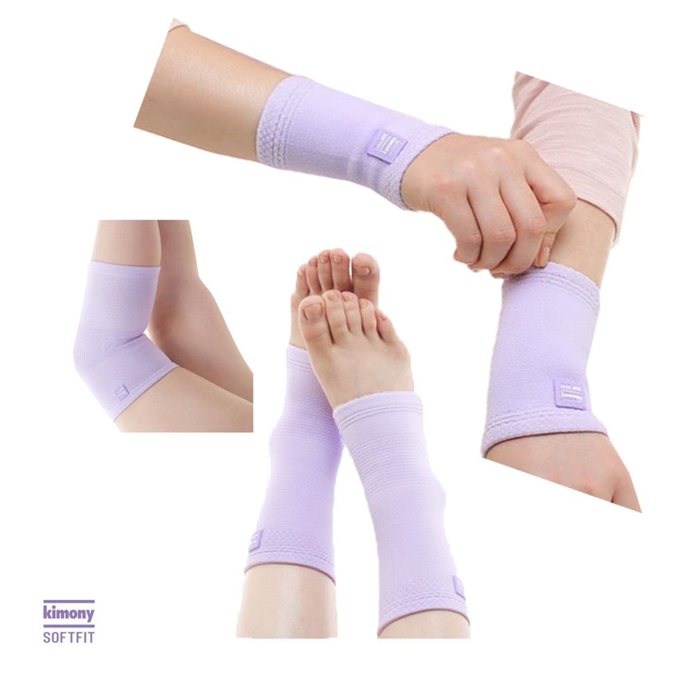 KIMONY_Mom's Three Compression Braces Wrist Knee Ankle Protector Set no.1 Maternity Necessity For Women's Health Care Pain Relief Arthritis Injury Recovery Breathable ligament stabilization +Free Gift