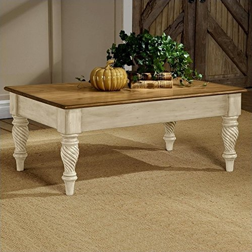 - Hillsdale Furniture 4508-881 Hillsdale Wilshire, Antique White Coffee Table