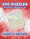 Flow Free / Number Link: 200 Puzzles, Gareth Moore, 1484148223