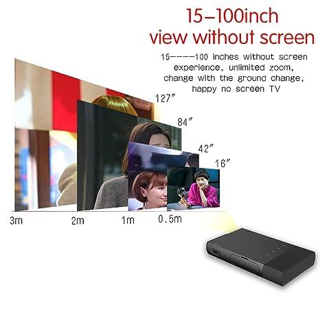 Proyector Portátil HD Dlp 1080p Altavoz Incorporado 138