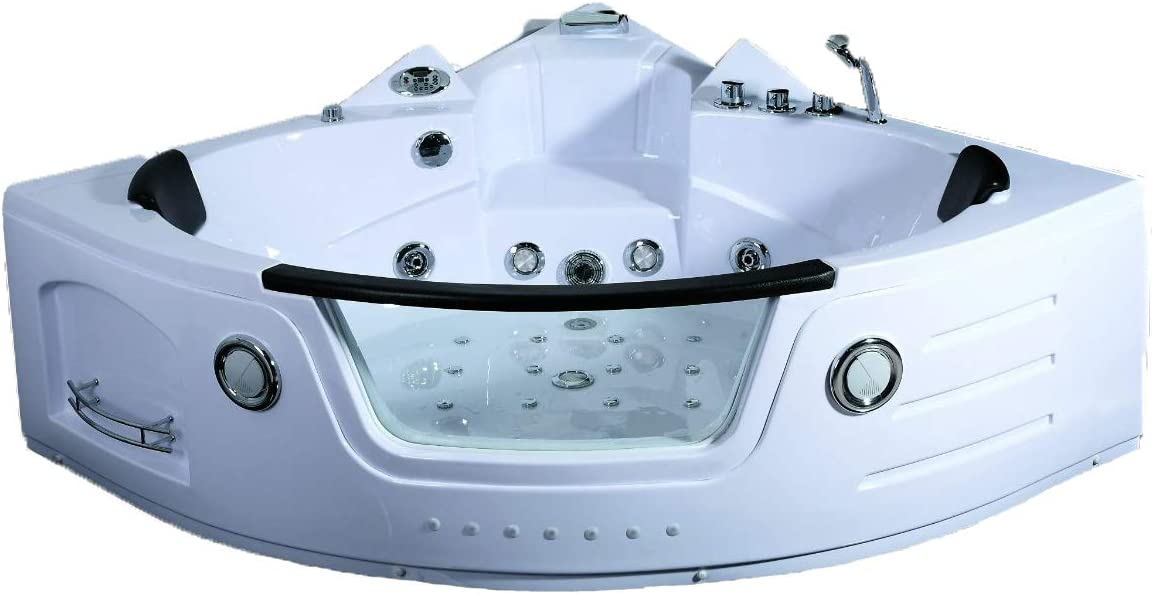2 Person Hydrotherapy Computerized Massage Indoor Whirlpool Jetted Bathtub Hot Tub 050a Bathtubs Amazon Canada