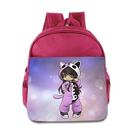 Amazon.com  Aphmau Cartoon Girls Fashion Backpack School Bag  Home ... b62916f8f509a