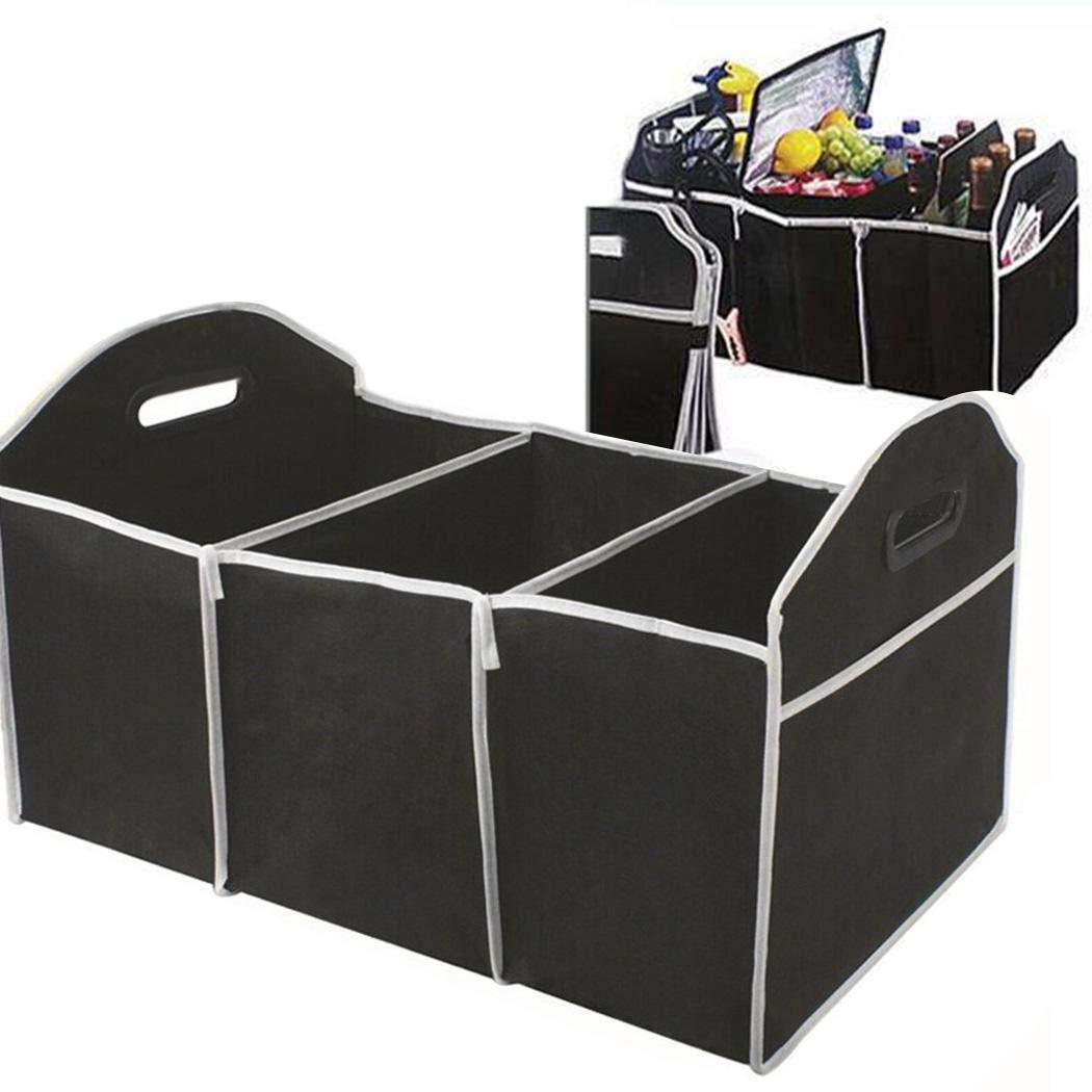 pioleUK Durable Portable Folding Multifunctional Car Trunk Storage Box Stowing /& Tidying