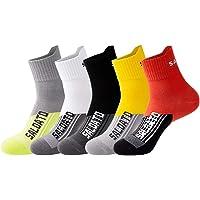 JEPOZRA Calcetines deportivos transpirable desodorante Calcetines para baloncesto running ciclismo trekking yoga Runing…