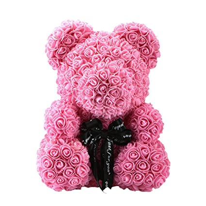 Festive & Party Supplies Pe Rabbit Dolls Rabbit Bear Romantic Birthday Gift For Girlfriend Toy Valentines Day Gift Wedding Decoration Artificial Rose