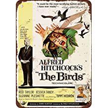 9 x 12 METAL SIGN - 1963 The Birds Movie - Vintage Look Reproduction