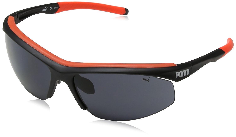 Puma PU14706 Gafas de Sol, Negro, única para Hombre: Amazon ...