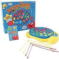 Let's Go Fishin' Conjunto de juegos, incluye juego de cartas Go Fish