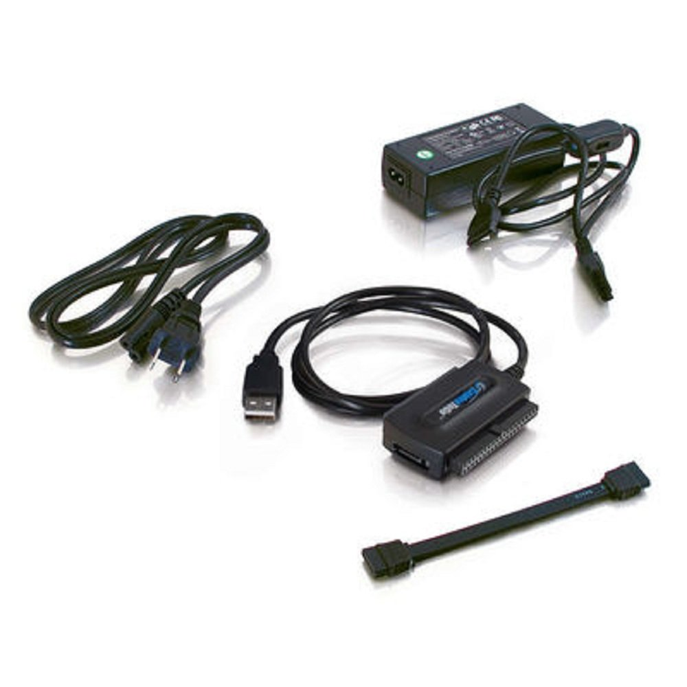 Amazon.com: C2G 30504 Cables to Go USB 2.0 to IDE or Serial ATA Drive  Adapter Cable, Black: Electronics